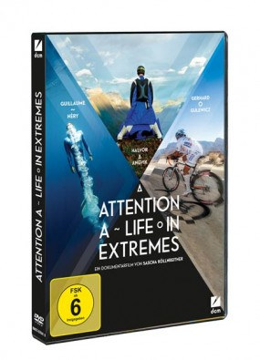 """DVD """"Attention – A Life in Extremes"""""""