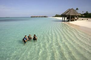 Tauchunterricht im Coco Palm Resort Dhuni Kolhu
