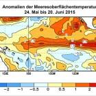 Anomalien der Meeresoberflächentemperatur