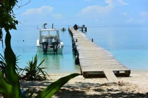 Der Bootsanleger des Selayar Dive Resort