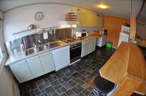 Küche des Appartements, Foto: © Chrsitian Skauge