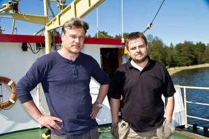 Dennis Aasberg (links) und Peter Lindberg