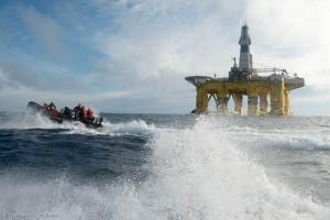 """Shells Ölplattform """"Polar Pioneer"""""""