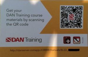Bei DAN kommen die Schulungsunterlagen bequem per QR-Code aufs Smartphone