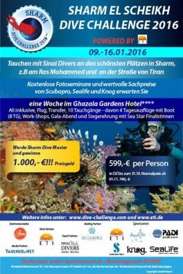 Sharm Dive Challenge 2016