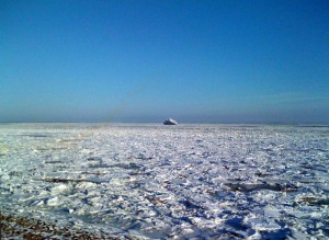 Watt unter Eis