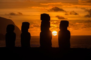Moai - Kolosse an Land