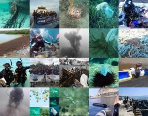 "Foto-Kampagne ""Beneath the Waves"""