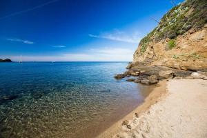 Die Morcone Bucht auf Elba
