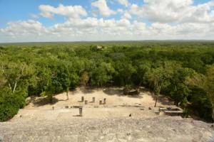 Calakmul – Blick über den Regenwald