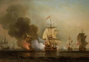 Die Explosion der San José