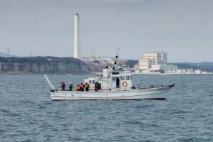 Forschungsschiff vor Fukushima