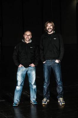 René Trost und Nik Linder