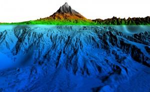 Untermeerische Ostflanke des Vulkans Ätna