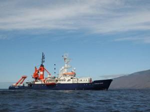 "Forschungsschiff ""POSEIDON"" vor El Hierro"
