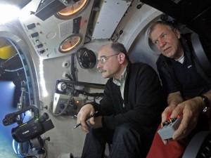 Prof. Mark Hannington und JAGO-Pilot Jürgen Schauer