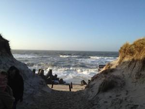 Sylter Strand vor Hörnum