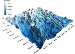 3-D Darstellung des Mittelatlantischen Rückens