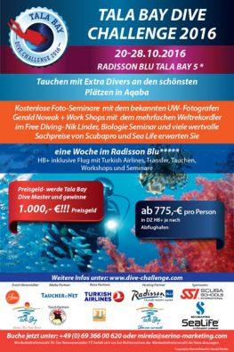 Tala Bay Dive Challenge 2016