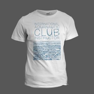 "i.a.c. T-Shirt ""Blue Wave"""