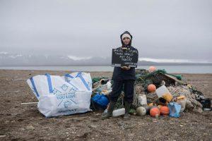 Plastikmüll in der Arktis