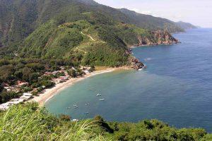 Bucht von Chichirivichi de la Costa an der Nordküste Venezuelas