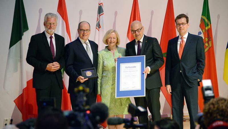 Übergabe Deutscher Meerespreis 2016