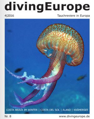 """Die 8. Ausgabe von """"divingEurope"""""""