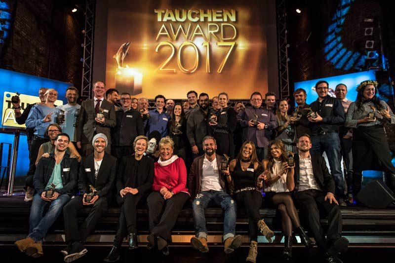 Die Sieger des TAUCHEN-Awards 2017