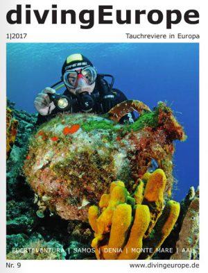 """9. Ausgabe von """"divingEurope"""""""