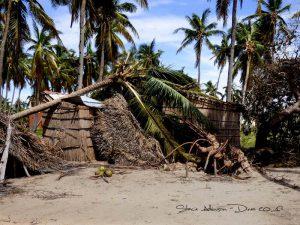 Sturmschäden in Tofo