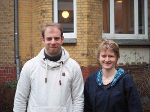 Dr. Rainer Kiko und Svenja Christiansen