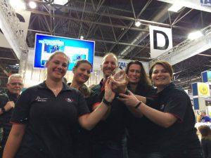 Team vom Tauchsportzentrum Niederrhein