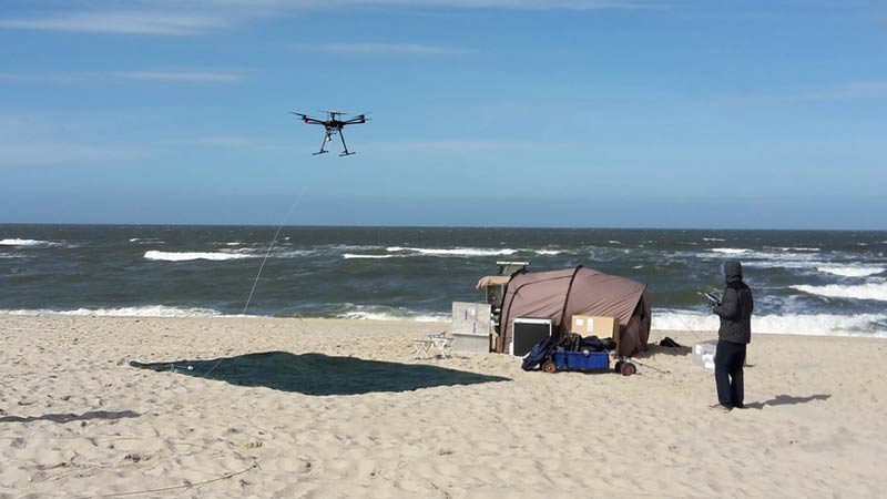 Drohnenexperiment