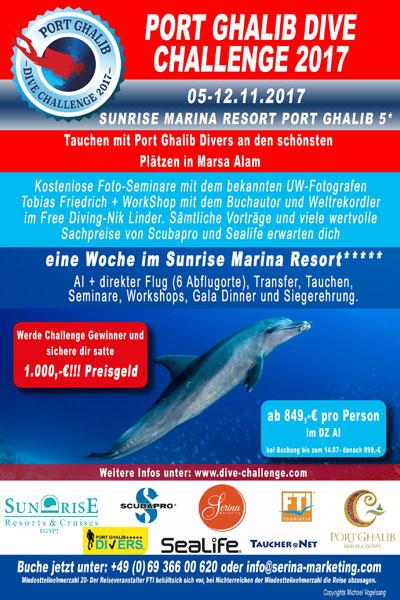 Port Ghalib Dive Challenge 2017
