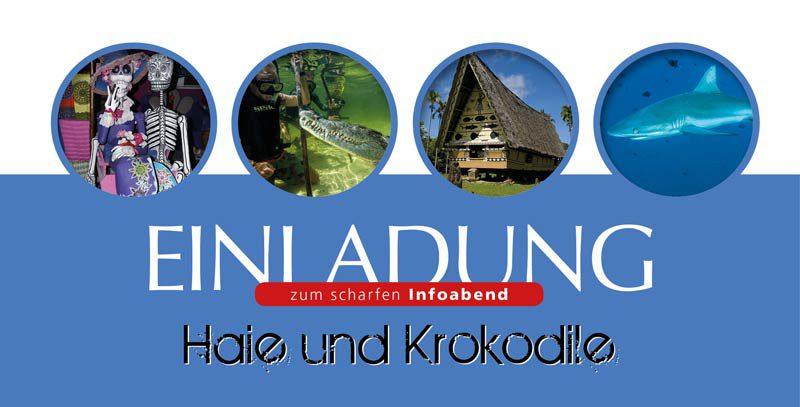 """Info-Abend """"Haie & Krokodile"""""""
