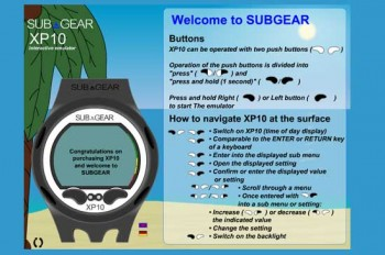 Subgear XP10-Simulator