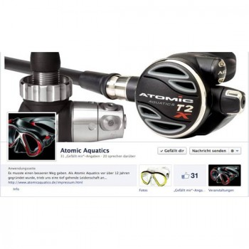 Atomic Aquatics auf Facebook