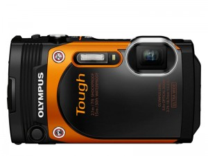 "Die ""Tough TG-860"" von Olympus in Orange"